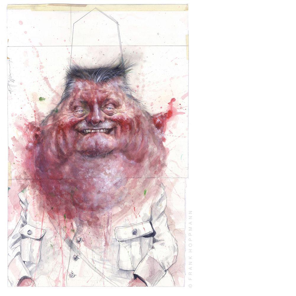 Satirical Portraits № 02 on Behance