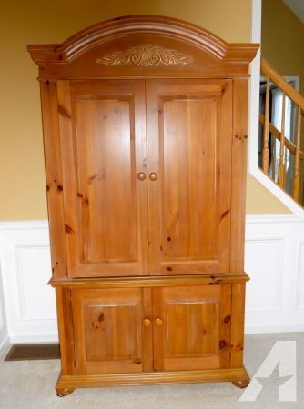 Broyhill Armoire / Entertainment Cabinet - (Victor, NY) for Sale ...