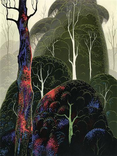 Early Autumn - Eyvind Earle