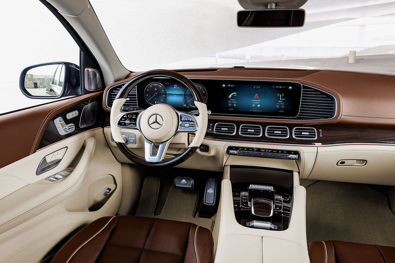 Mercedes Maybach Gls 600 4matic 2020 De Yollara Cikacak Maybach
