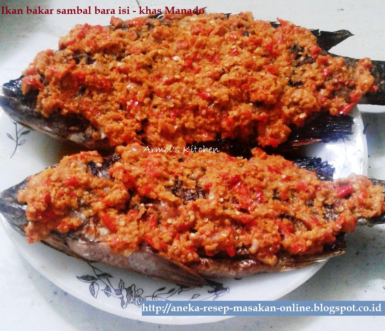 Pin By Aneka Resep Masakan Online On Manado Non Babi Sambal Roa Jakarta Indonesian Cuisine Seafood Beverages Sea Food