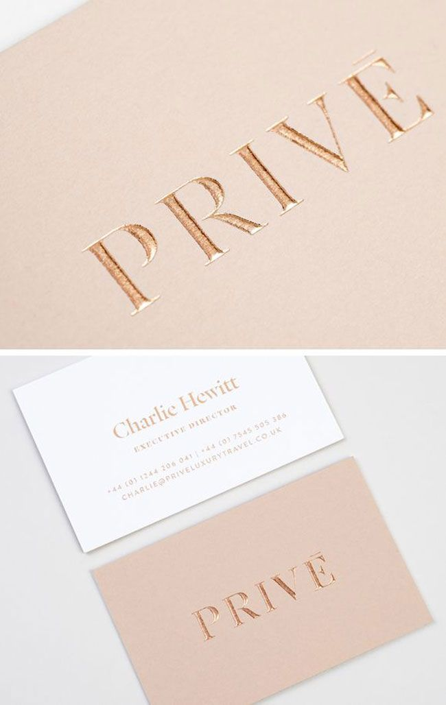 Spot UV collaterals Prive | Design | Pinterest | Business cards ...