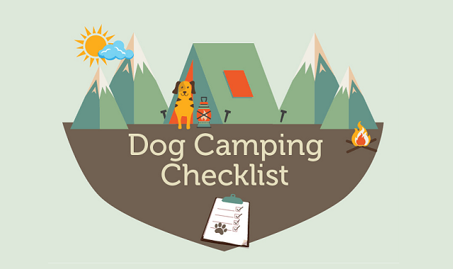 Dog Camping Checklist #infographic