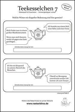 Teekesselchen Begriffe