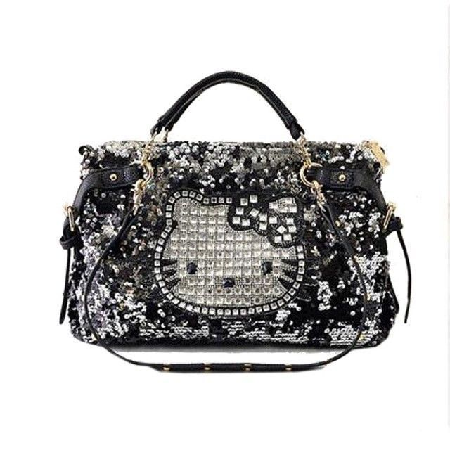 e63534c9c handbag hello kitty women shoulder bag cat New crossbody Black high quality  #Unbranded #ShoulderBag