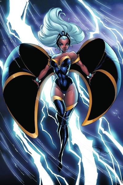 63b049699b5 X MEN – STORM  Second field leader and longtime leader of the team. Powers   Weather manipulation (lighting bolts