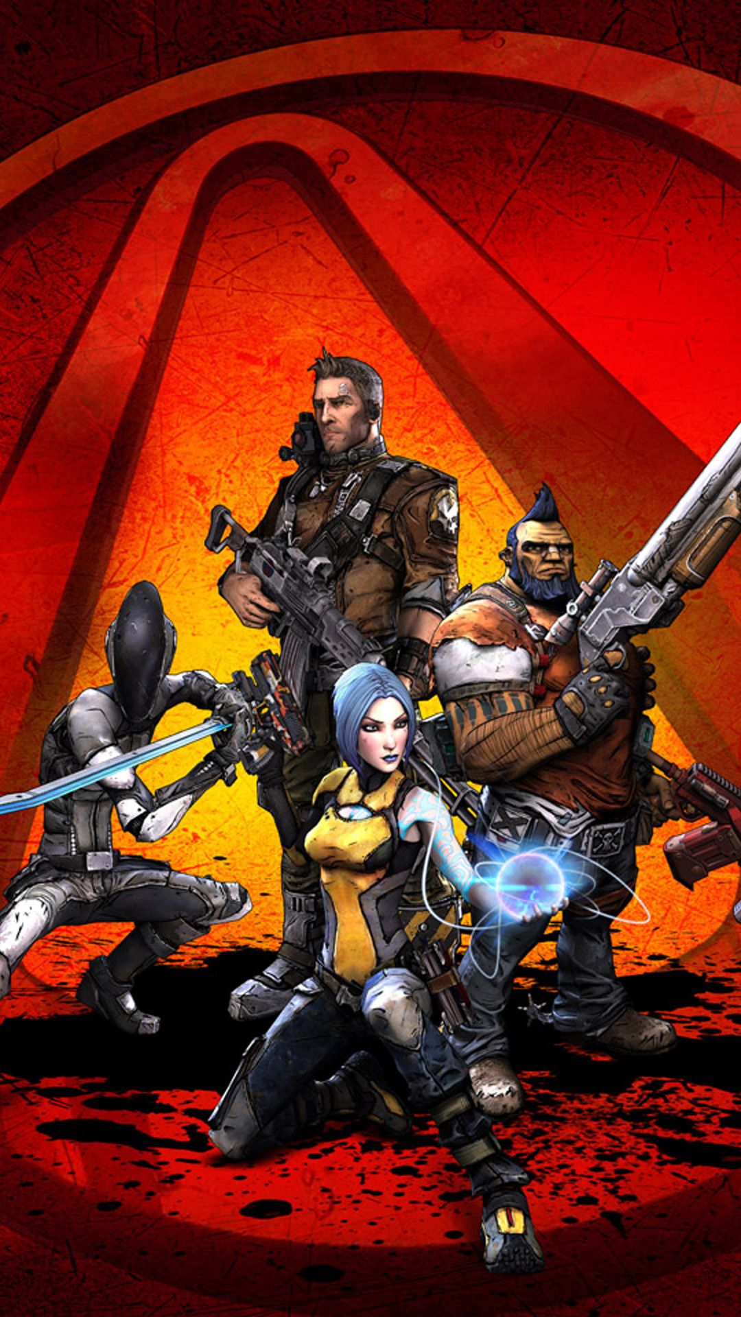 iPhone 6 plus Borderlands 2 1 Games wallpaper
