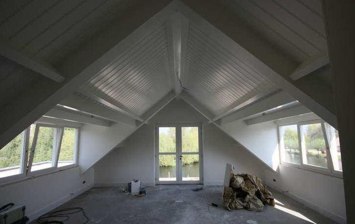 Dakkapel raam voorkant dakkapel pinterest raam zolder en zolderkamers - Kind mezzanine kantoor ...