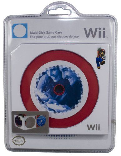 Nintendo Wii Multi Disc Game Case Holder Pdp Pelican Jewel Case Case Dvd