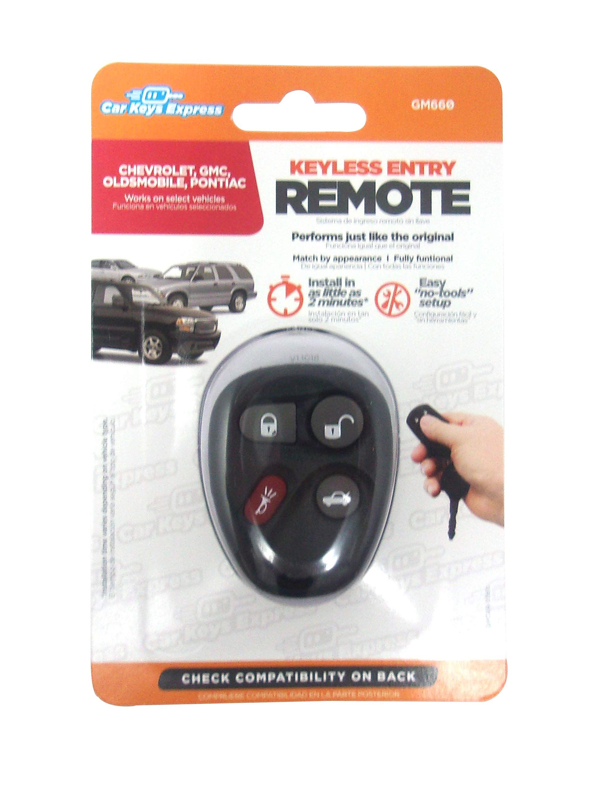 Car Keys Express 4 Button Remote With Trunk For Gm Check Out This Great Product This Is An Affiliate Link Antith Keyless Entry Systems Remote Anti Theft