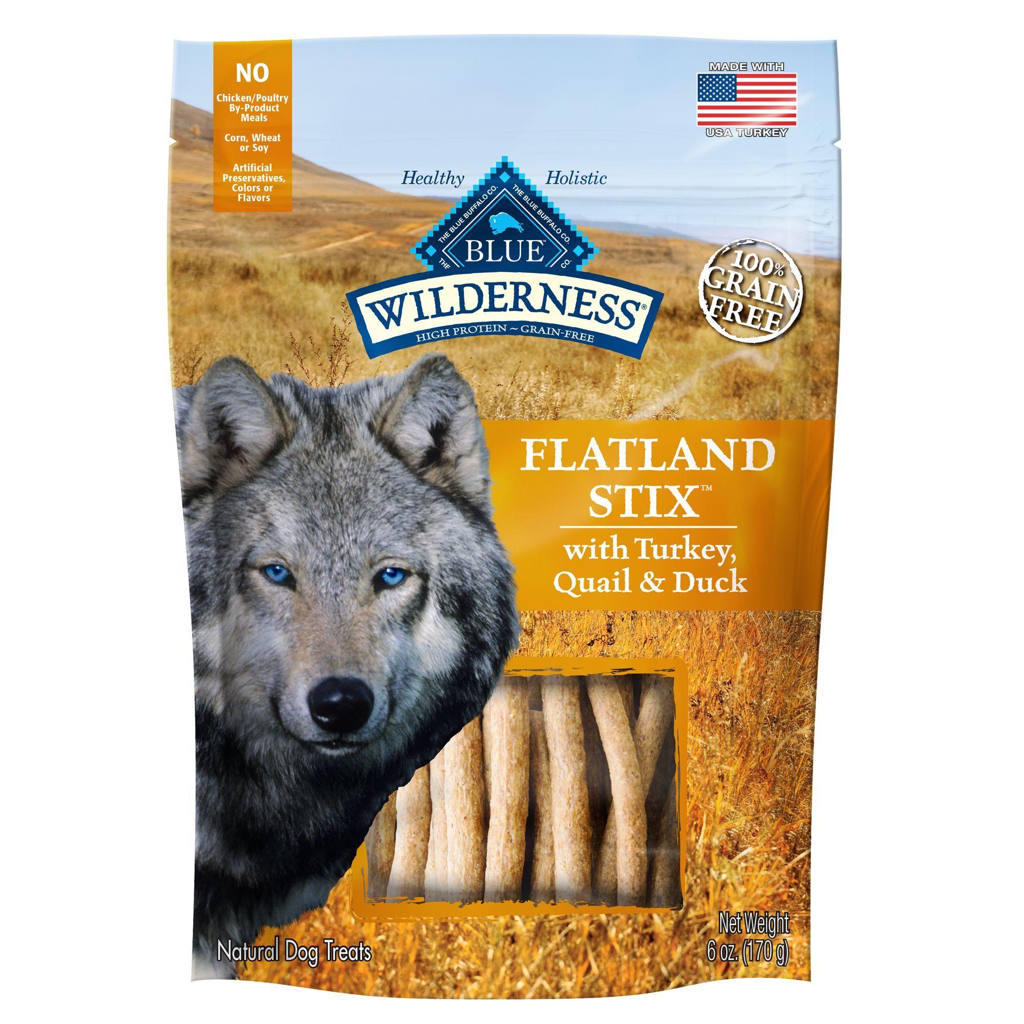 Blue Buffalo Wilderness Flatland Stix Dog Treats Natural Grain Free Turkey Quail Duck Natural Dog Treats Dog Treats Dog Treats Grain Free