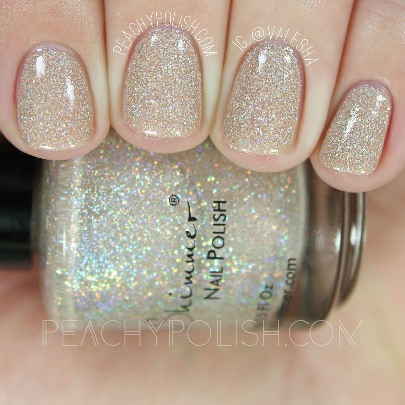 KBShimmer A Hint Of Manila   Office Space Collection   Peachy Polish ...