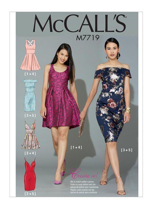 M7719 | McCall\'s Patterns | Sewing Patterns | McCalls Patterns ...
