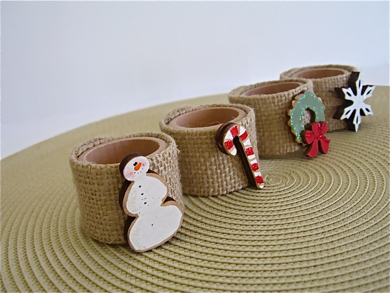 Image Gallery Homemade Christmas Napkin Rings