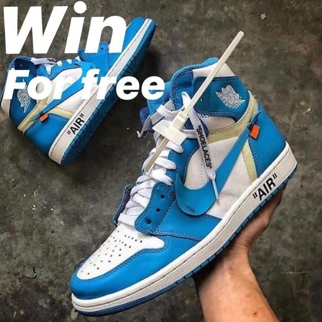 298385452e5513 Off White Jordan 1 Giveaway (100% REAL) (Resell Value  1200 ) To ...