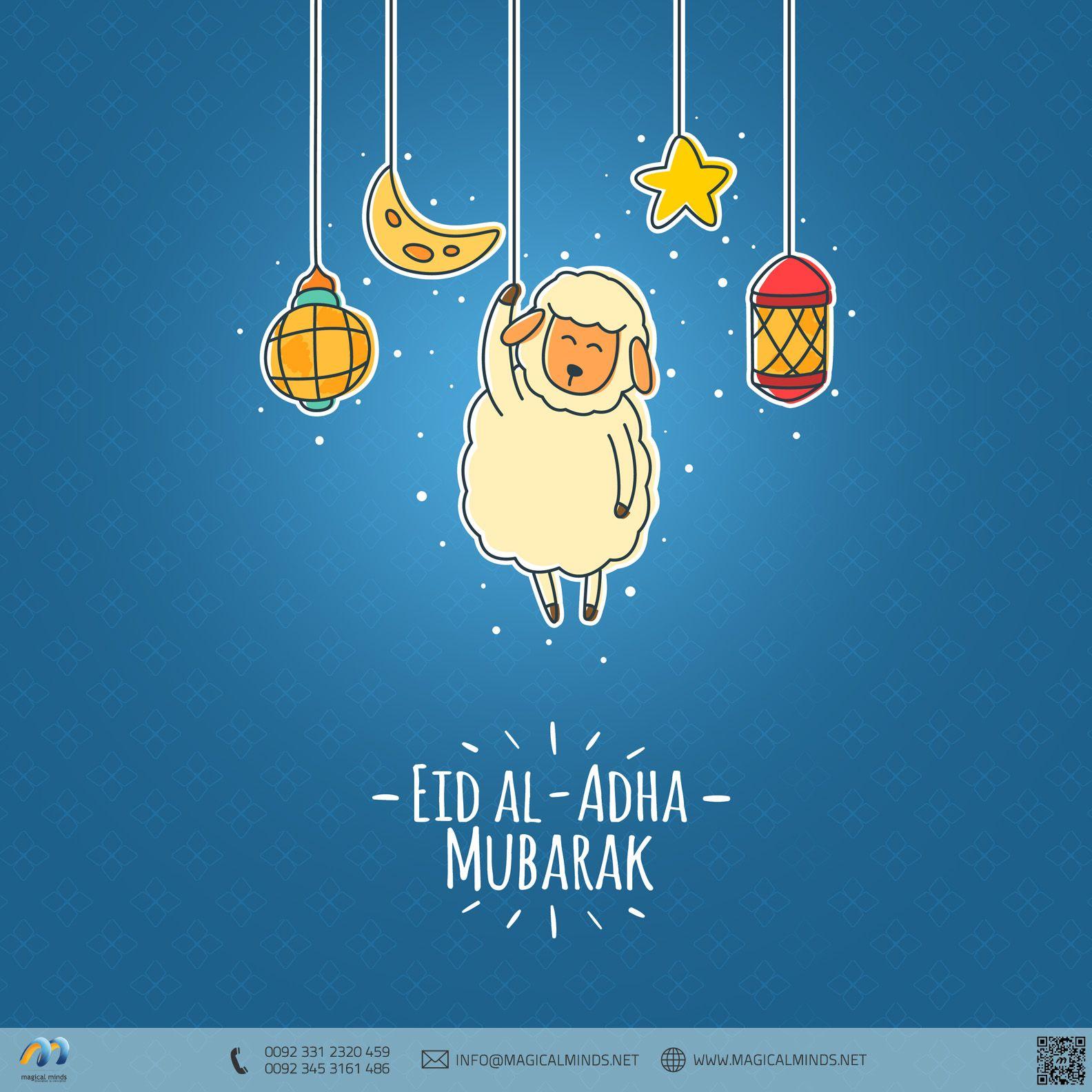 Magicalminds Wishes You Joy Happiness Peace And Prosperity On This Blessed Occasion Eid Ul Adha Mubarak Celeb Eid Al Adha Greetings Adha Card Eid Ul Adha