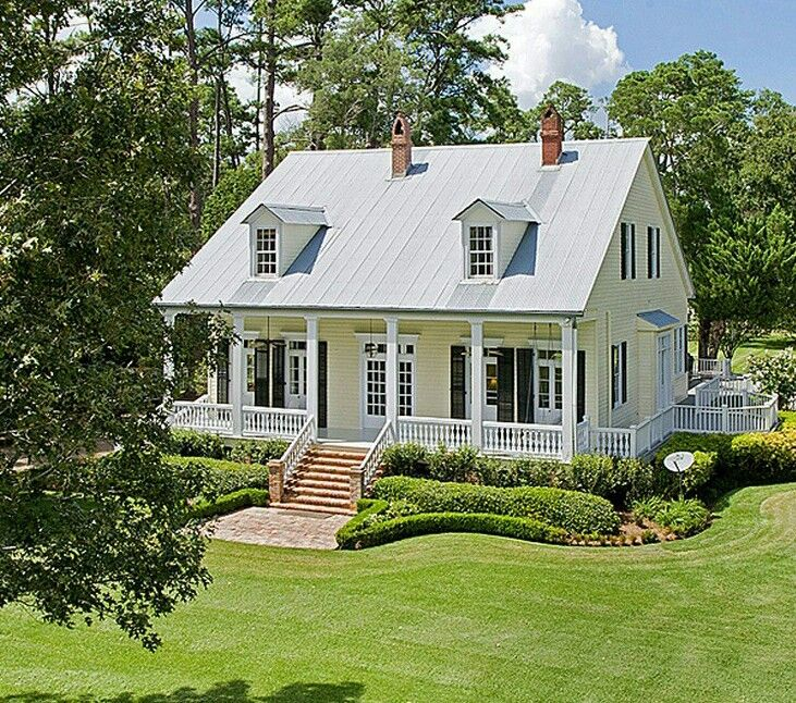 Sweet Cajun Creole Cottage Acadian House Plans Acadian Style Homes Creole Cottage