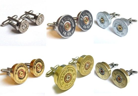 shotgun shell cuffs Guns and Ammo Transformed into Incredible Urban Jewelery #gunsammo