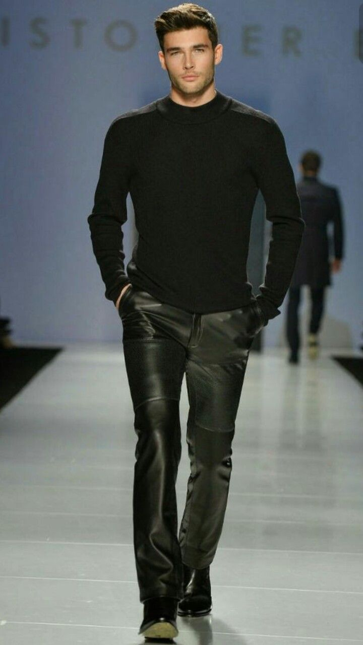Leather Track Pinterest Leather Mens Leather Pants And
