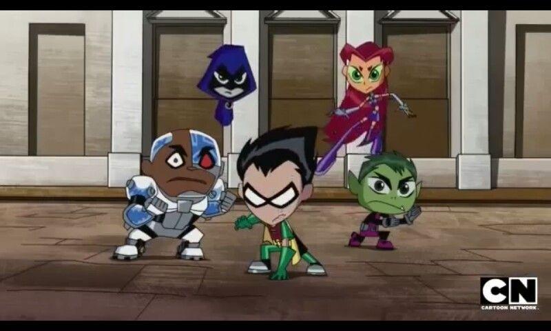 Teeny Teen Titans! ;)