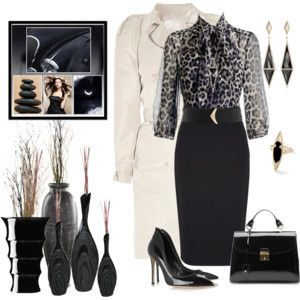 Fashion In The Color Black!