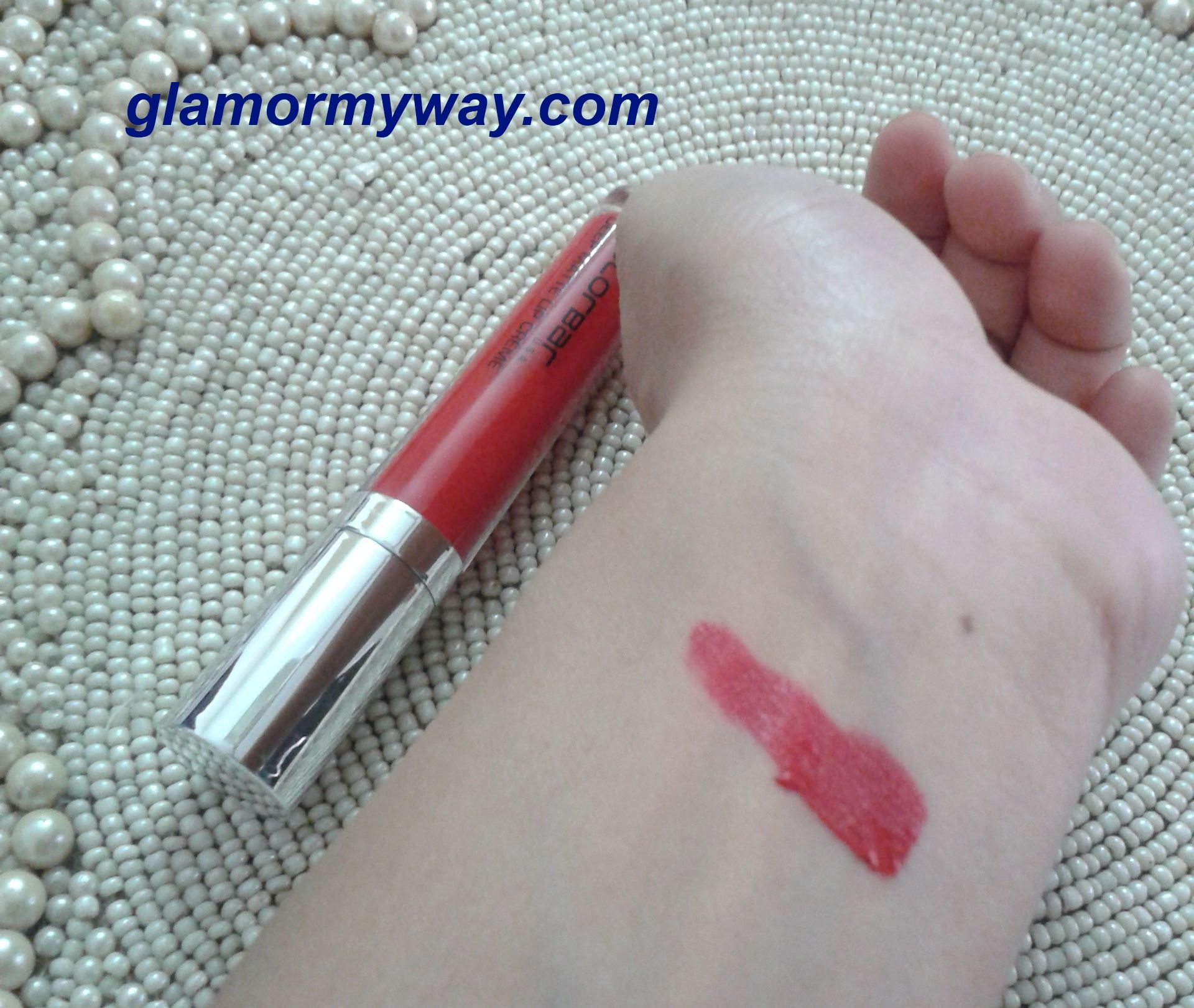 Colorbar Deep Matte Lip Creme in Deep Red Review, Swatch