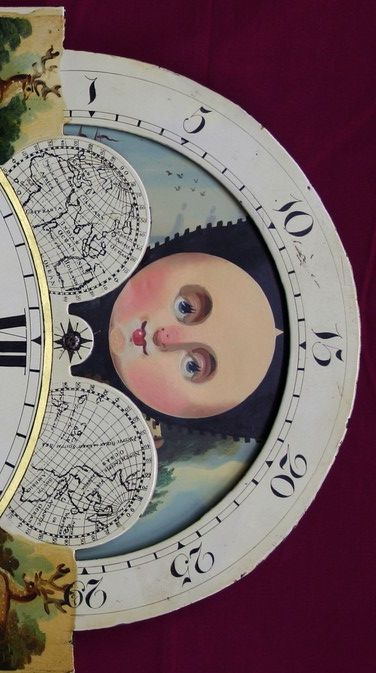 Moon Clock Face