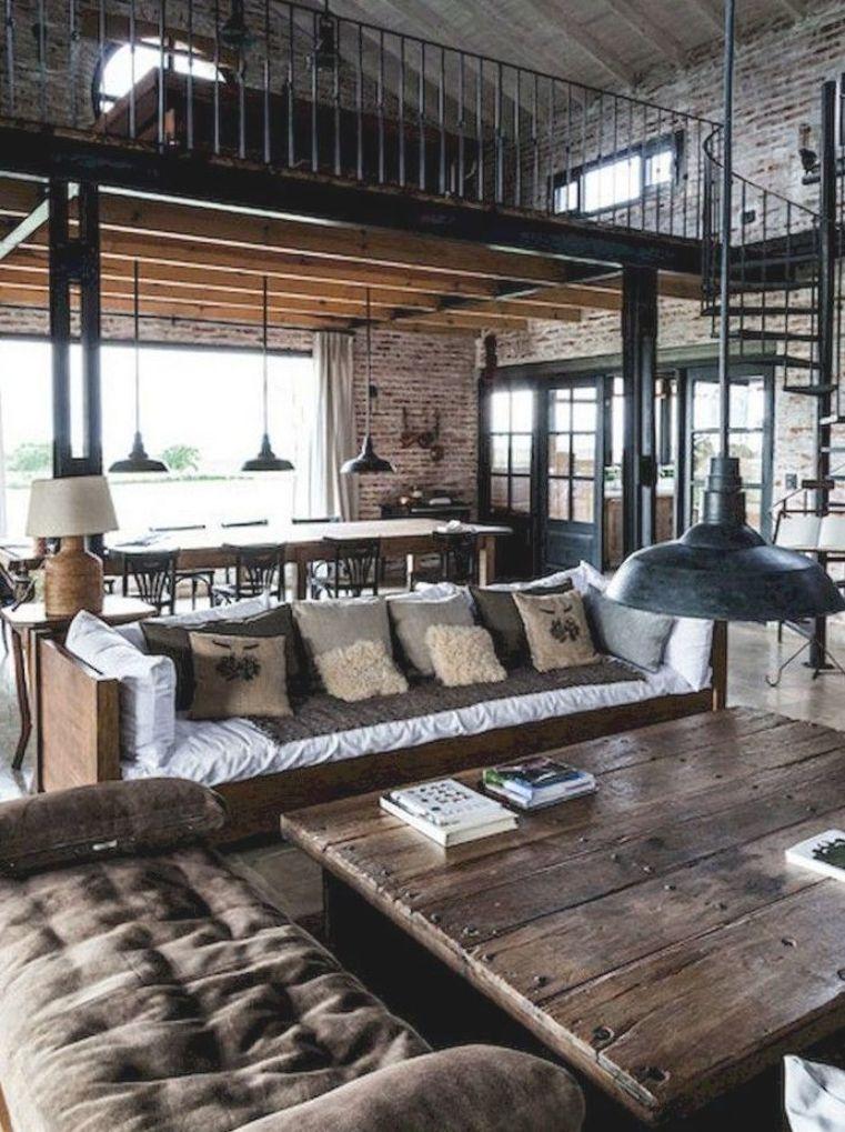 Vintage Industrial Style Decor Trends To Make A Lasting Impression In Your Guests Homeideas Interiordesign Homede Di 2020 Dekorasi Rumah Rumah Dekorasi Kamar Tidur
