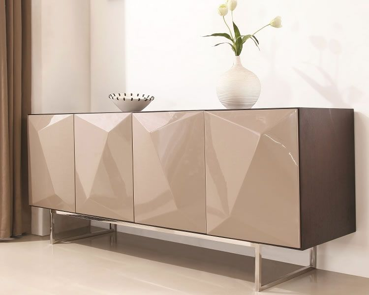 Modern Buffet Dining Room Table