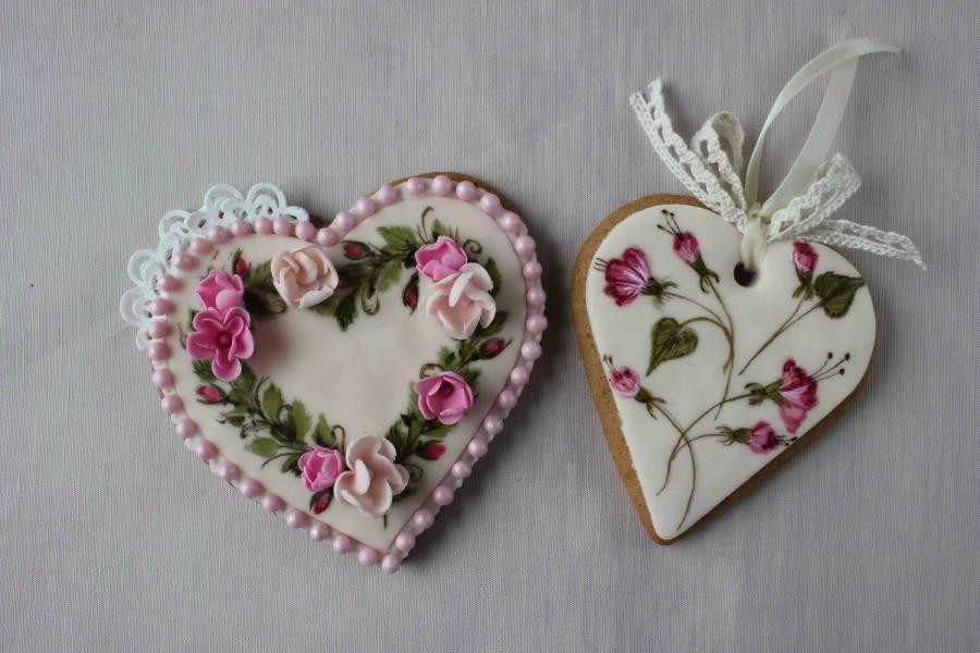 Valentine heart cookies - Cake by Bubolinkata