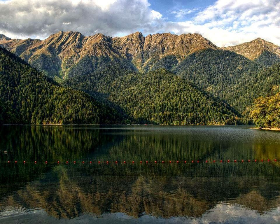 Lake Ritsa, Abkhazia | Georgia (Country) | საქართველო ...