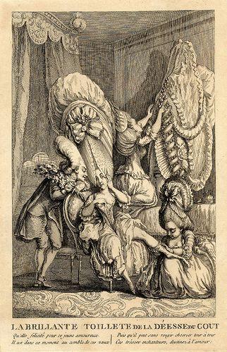 La brillante toillete de la Déesse du Gout 1770s by peacay, via Flickr