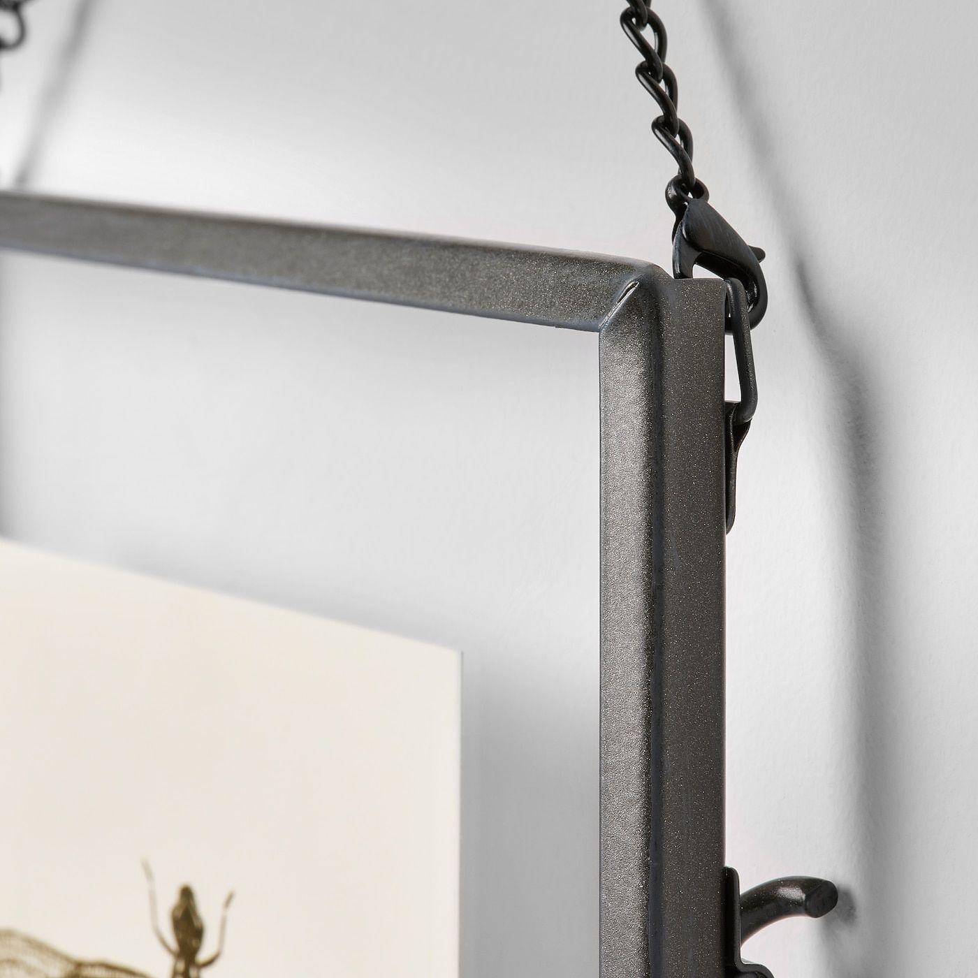 Cadre Photo Sur Pied Ikea ikea - lerboda cadre en 2020 | chaîne en métal, gris foncé