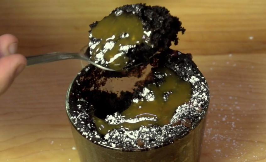 Eggless Chocolate Mug Cake   Chocolate mug cakes ...