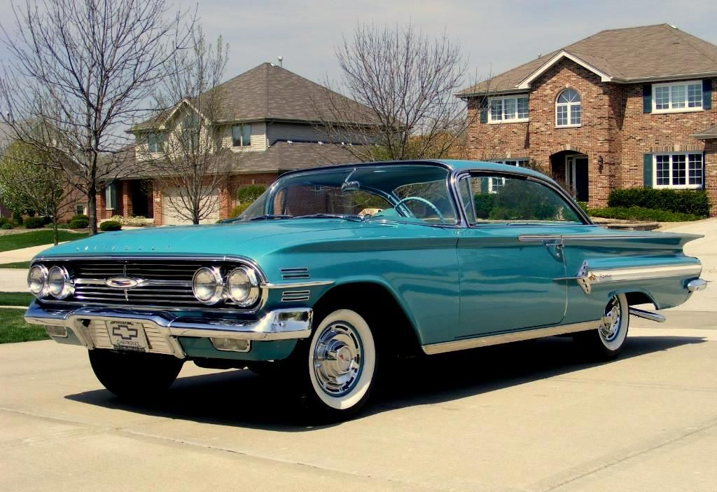 1960 Impala Old american cars, Cool old cars, Classic cars