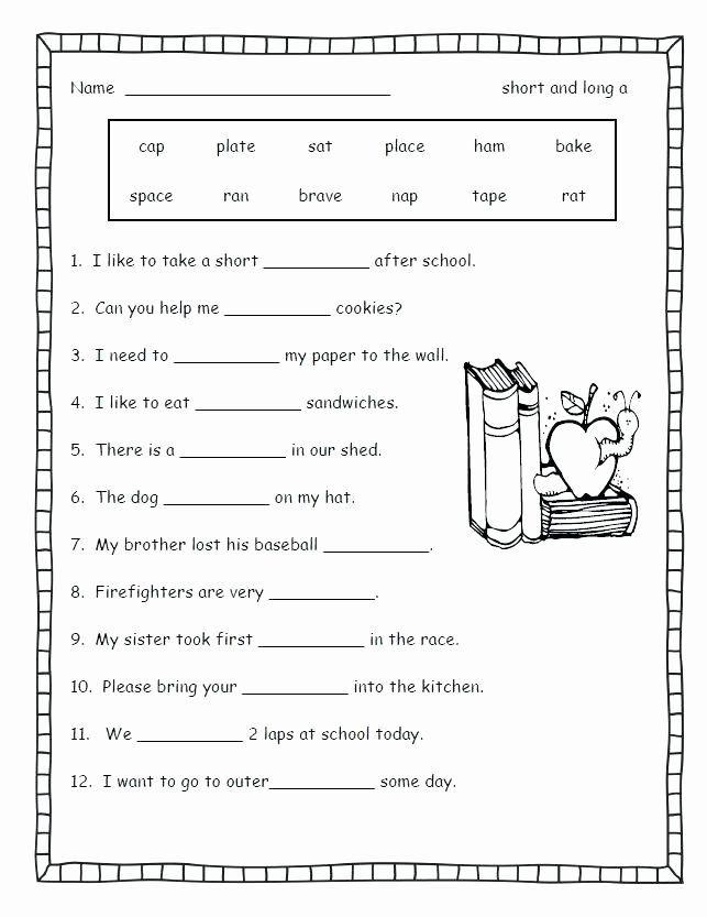 2nd Grade Consonant Blends Worksheets Consonant Blends