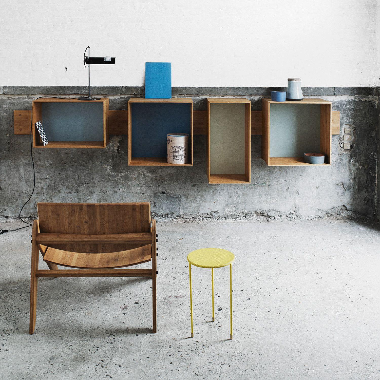 Mobla Sj Bookcsase Multicolour Von We Do Wood Designer Mobel Im Online Shop Regal Design Bucherregal Regal