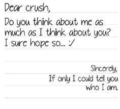 Secret Crush Quotes Tumblr Google Search Cute Flirty Amor