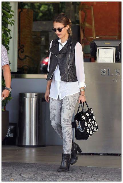 Street Style: Jessica Alba