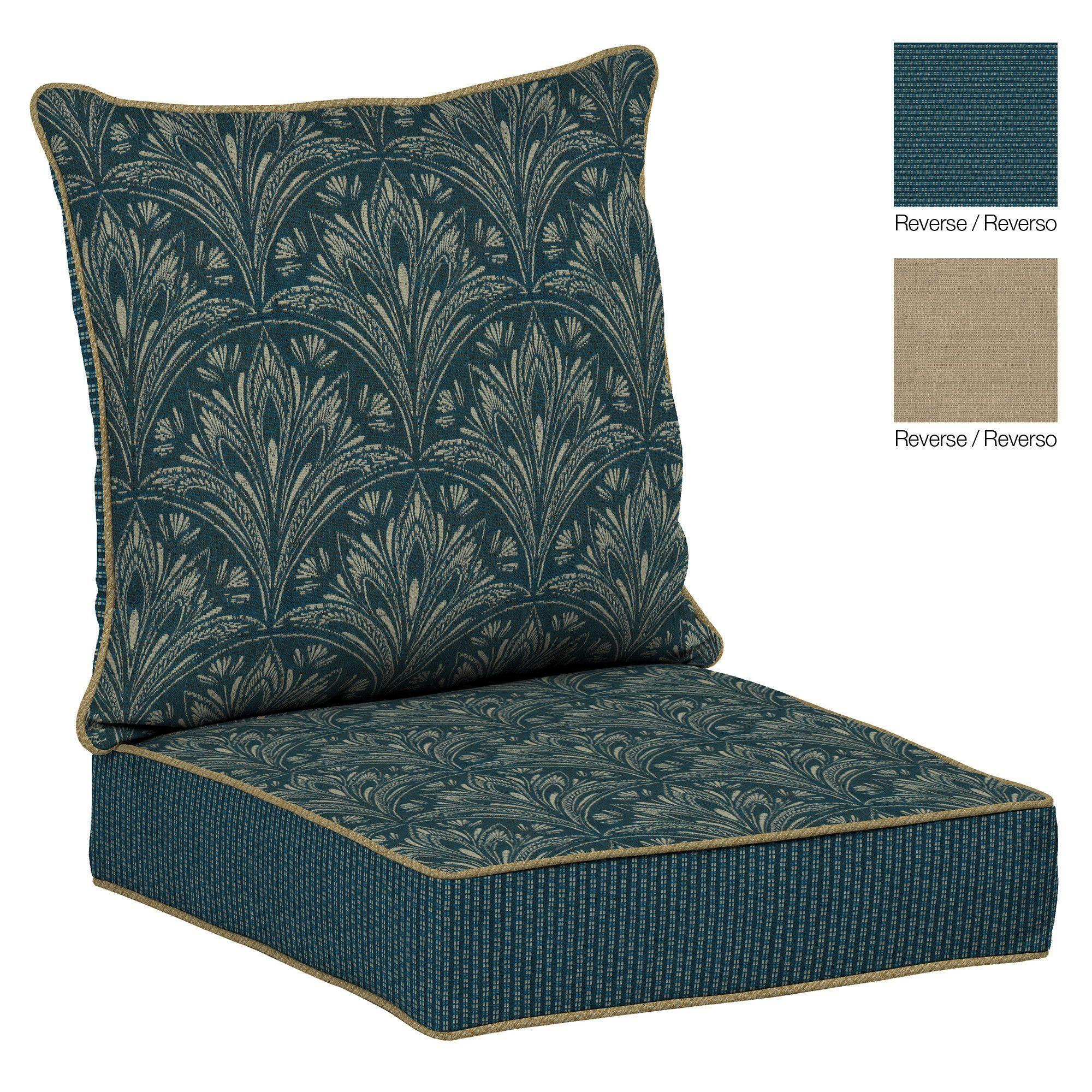 Royal Zanzibar Outdoor Reversible Deep Seat Cushion
