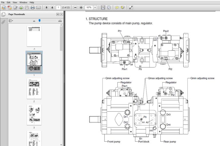 Hyundai R480 520lc 9s Crawler Excavator Service Repair Manual Pdf Download In 2020 Repair Manuals Hyundai Excavator