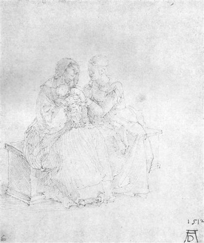 Anna selbdritt - Albrecht Durer