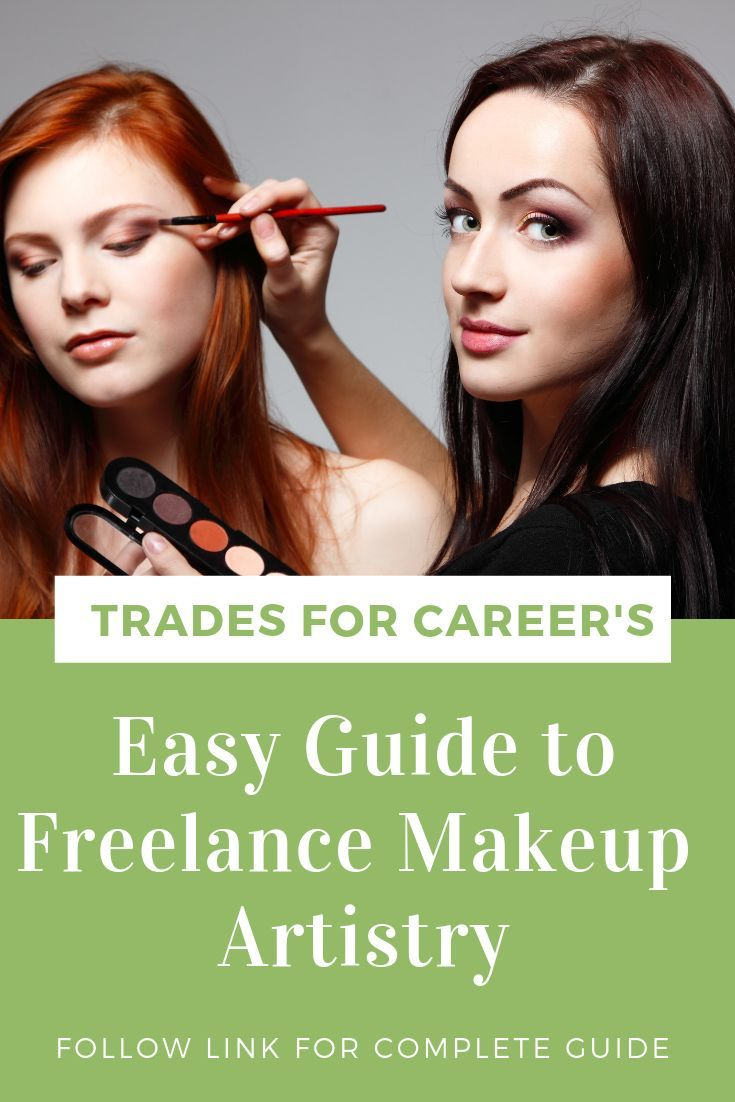 How to a freelance makeup artist trades for