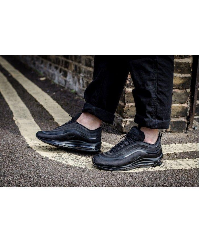size 40 c74bc 09e08 Nike Air Max 97 Ultra All Black Trainer