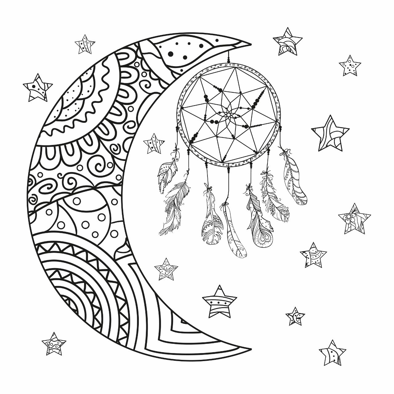 Coloring Sheet Kitten S First Full Moon Coloring Pages