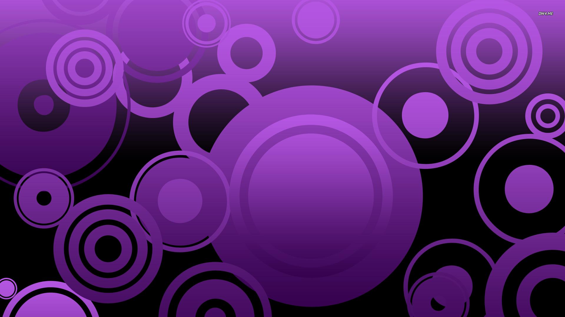 Purple Circles Wallpapers Http Hdwallpapersfcom Purple