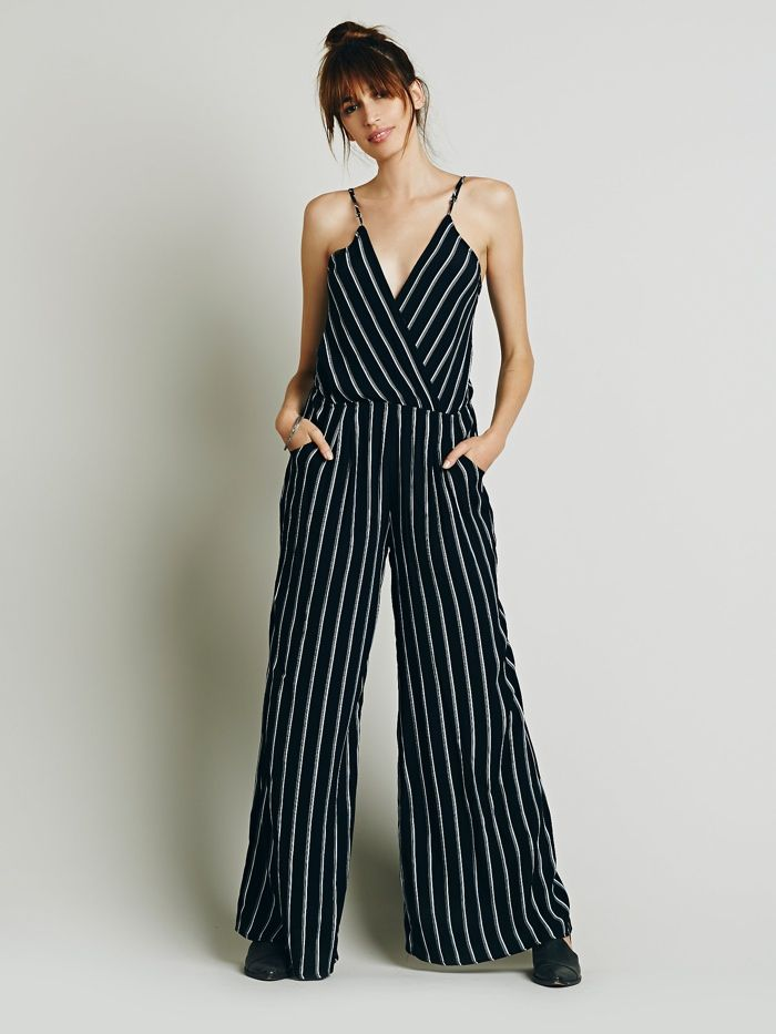 14dd8d50d26 Flynn Skye  Dressy in Pinstriped  Jumpsuit available for  202.00