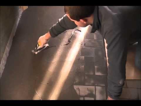 Aanbrengen stuc deco op oude betegelde vloer everything about