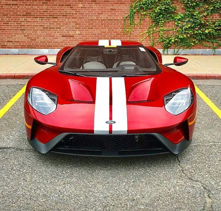 Awesome Porsche  Ford Gt Liquid Red New Jersey Insurance
