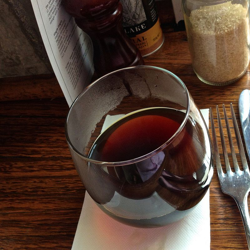 Filter coffee at Two Lost Boys cafe in Windsor | Food and